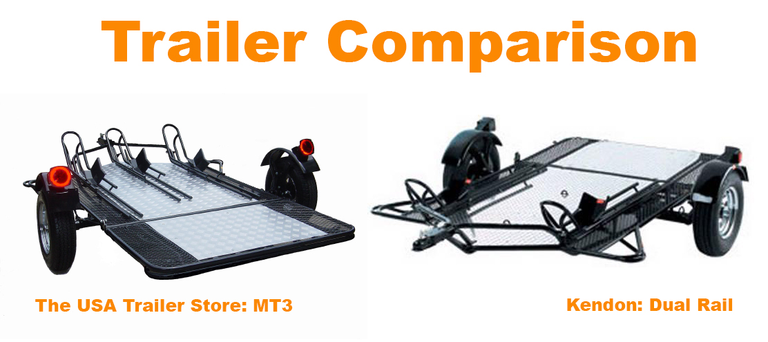Trailer Comparison MT3 vs Kendon Dual Rail