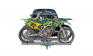 The Rage AMC 600-2 Double Motorcycle Hitch Carrier