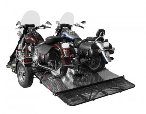 Droptail Motorcycle Trailer