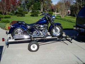 Port-A-Chopper Motorcycle Trailer