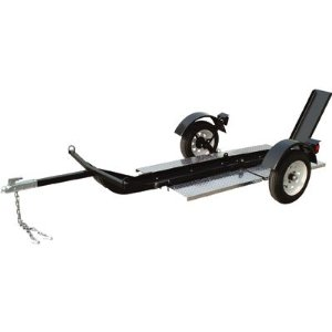 Ultra Tow Single Rail Motorcycle Trailer