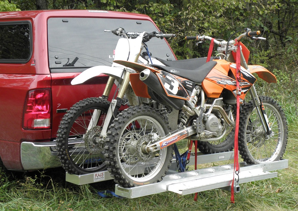 Trailer Hitch Motorcycle Carrier >> Double Motorcycle Hitch Carrier Motorcycle Trailer Review