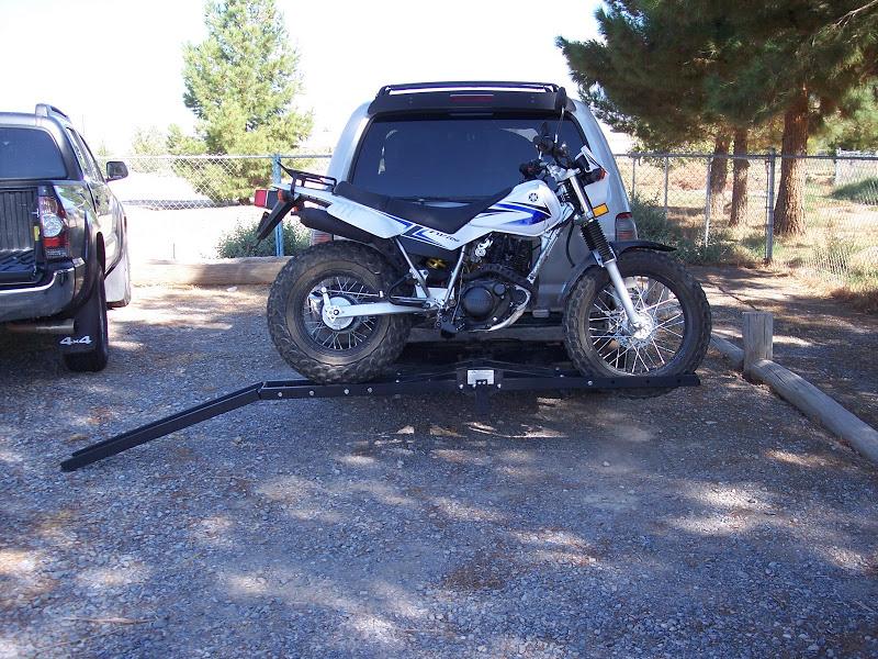 Masterbuilt HMXCR Hitch-Haul Steel Motorcycle Carrier