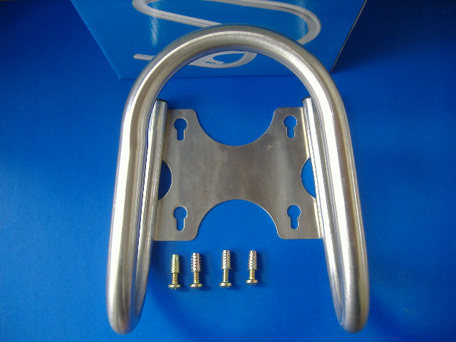 Superior Stainless Removable Motorcycle Wheel Chock